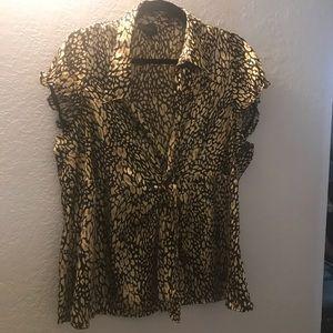 Lane Bryant silky blouse size 20